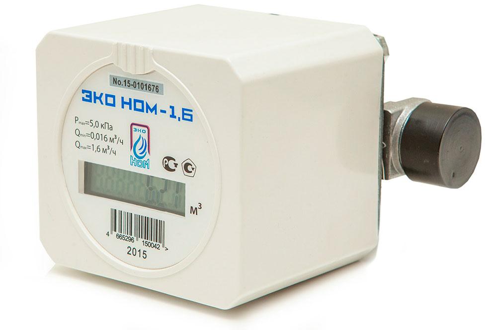 Счетчик газа ЭКО НОМ-СГ 1.6 - фото