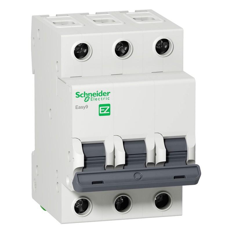 Автоматический выключатель 3Р 25А Schneider - фото