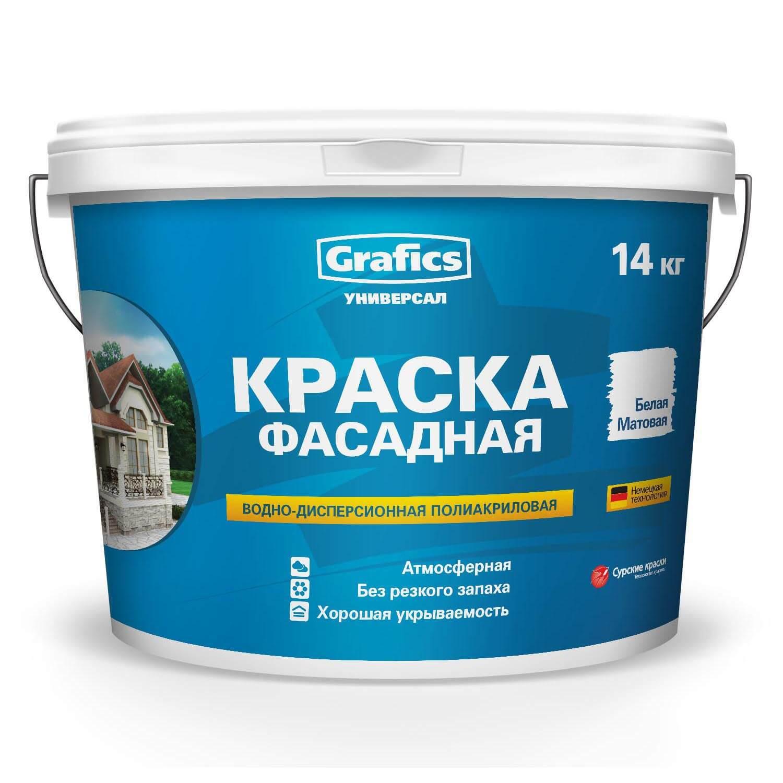 Краска Grafics универсал фасадная 1,5 кг - фото