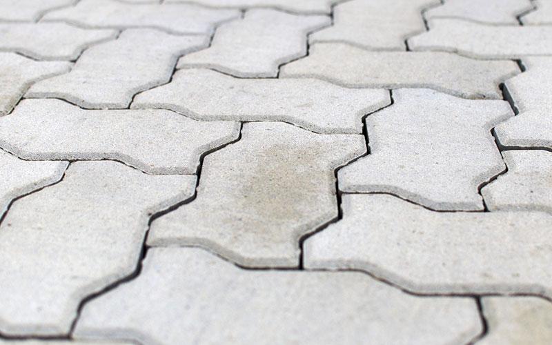 Тротуарная плитка Волна BRAER циркон 80мм - фото