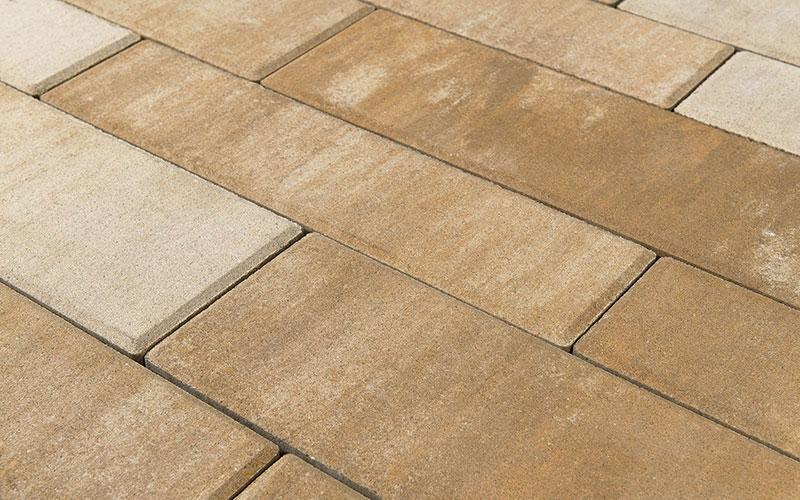 Тротуарная плитка ДОМИНО 60 мм BRAER плато - фото