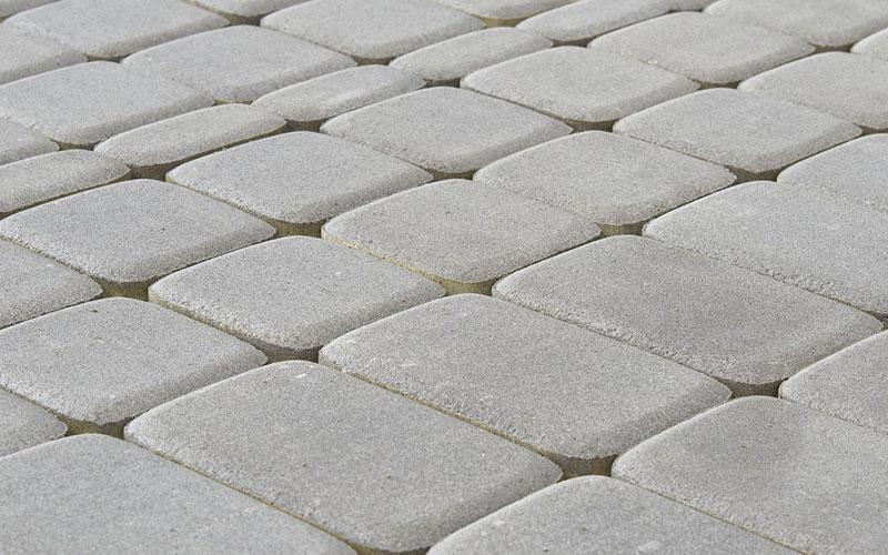 Тротуарная плитка КЛАССИКО 60 мм BRAER серый - фото