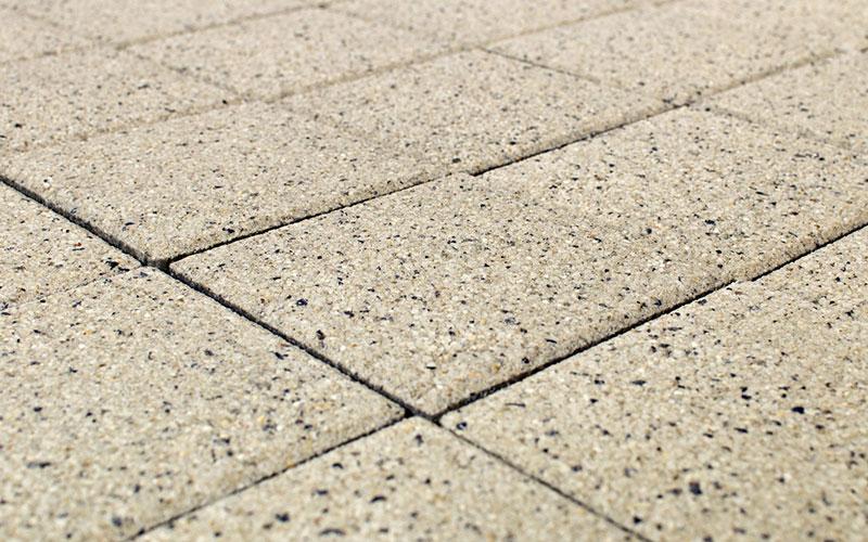 Тротуарная плитка Лувр 60 мм BRAER мрамор 200х200мм - фото