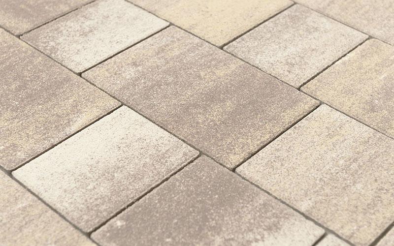 Тротуарная плитка Старый город ВЕНУСБЕРГЕР 60 мм BRAER степь - фото