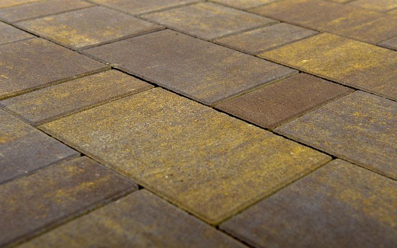 Тротуарная плитка Старый город ЛАНДХАУС BRAER мускат 60мм - фото