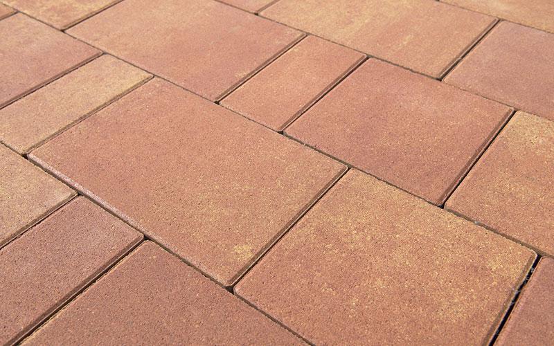 Тротуарная плитка Старый город ЛАНДХАУС BRAER рассвет 80мм - фото