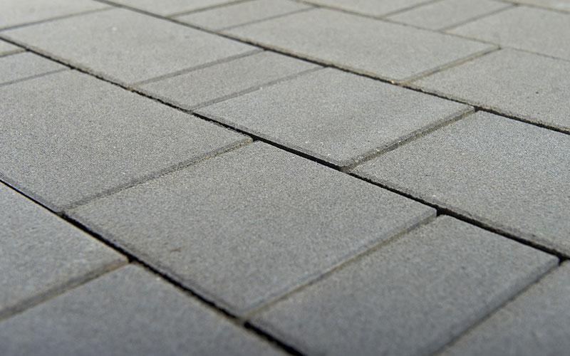 Тротуарная плитка Старый город ЛАНДХАУС BRAER антрацит 60мм - фото