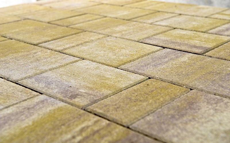 Тротуарная плитка Старый город ЛАНДХАУС BRAER степь 60мм - фото