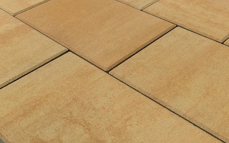 Тротуарная плитка ТРИАДА 60 мм BRAER сахара - фото
