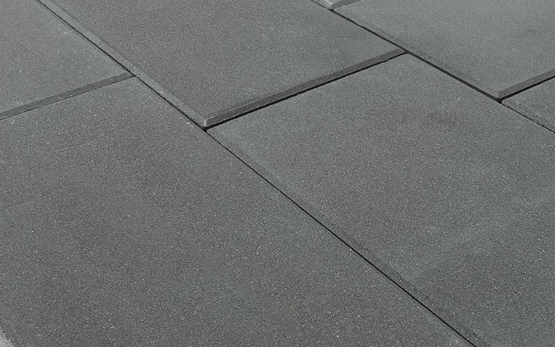 Тротуарная плитка ТРИАДА 60 мм BRAER серый - фото