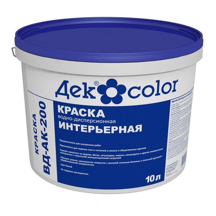 Краска Декоратор ВД-АК-200 Интерьерная (10л) - фото