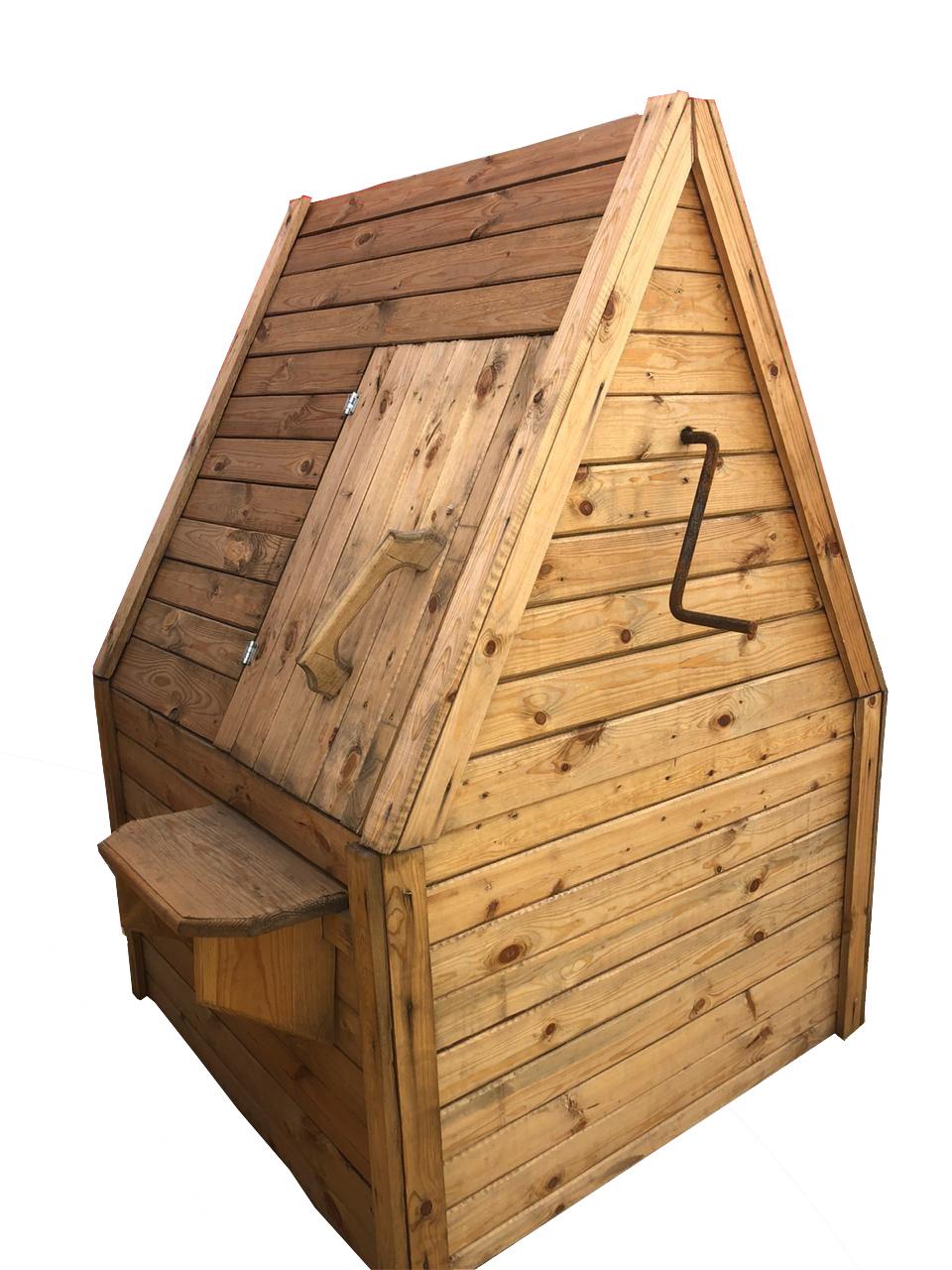 Домик для колодца Эконом - фото