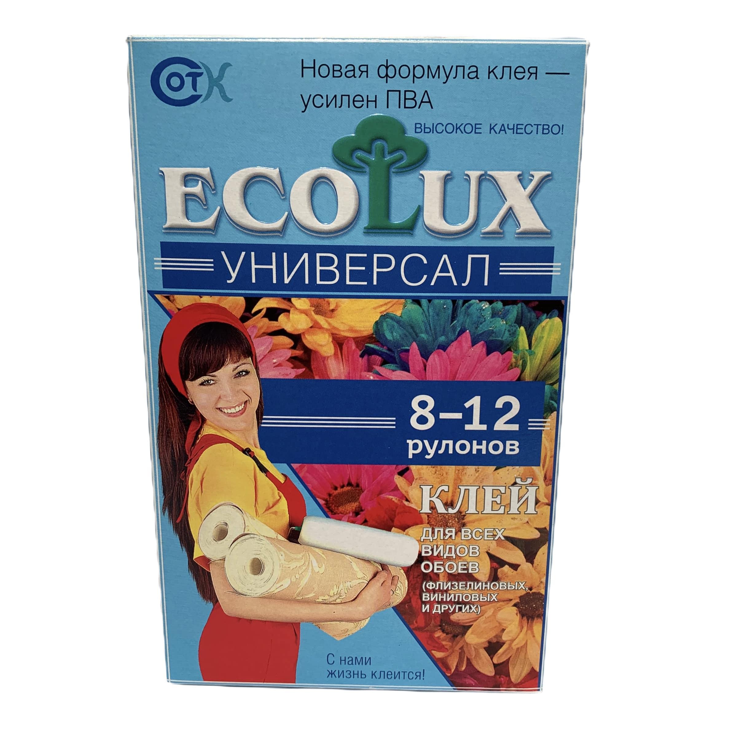 Клей универсал ECOLUX 250г - фото