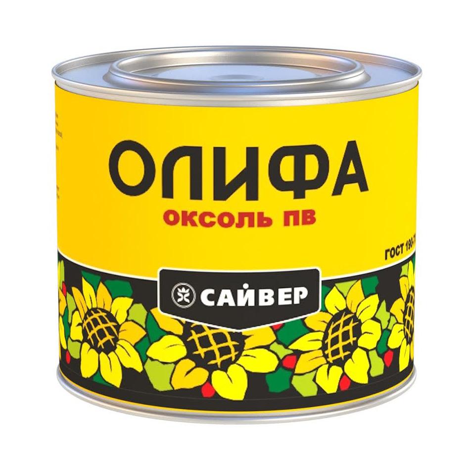 Олифа Сайвер Оксоль ПВ 3л (канистра) - фото
