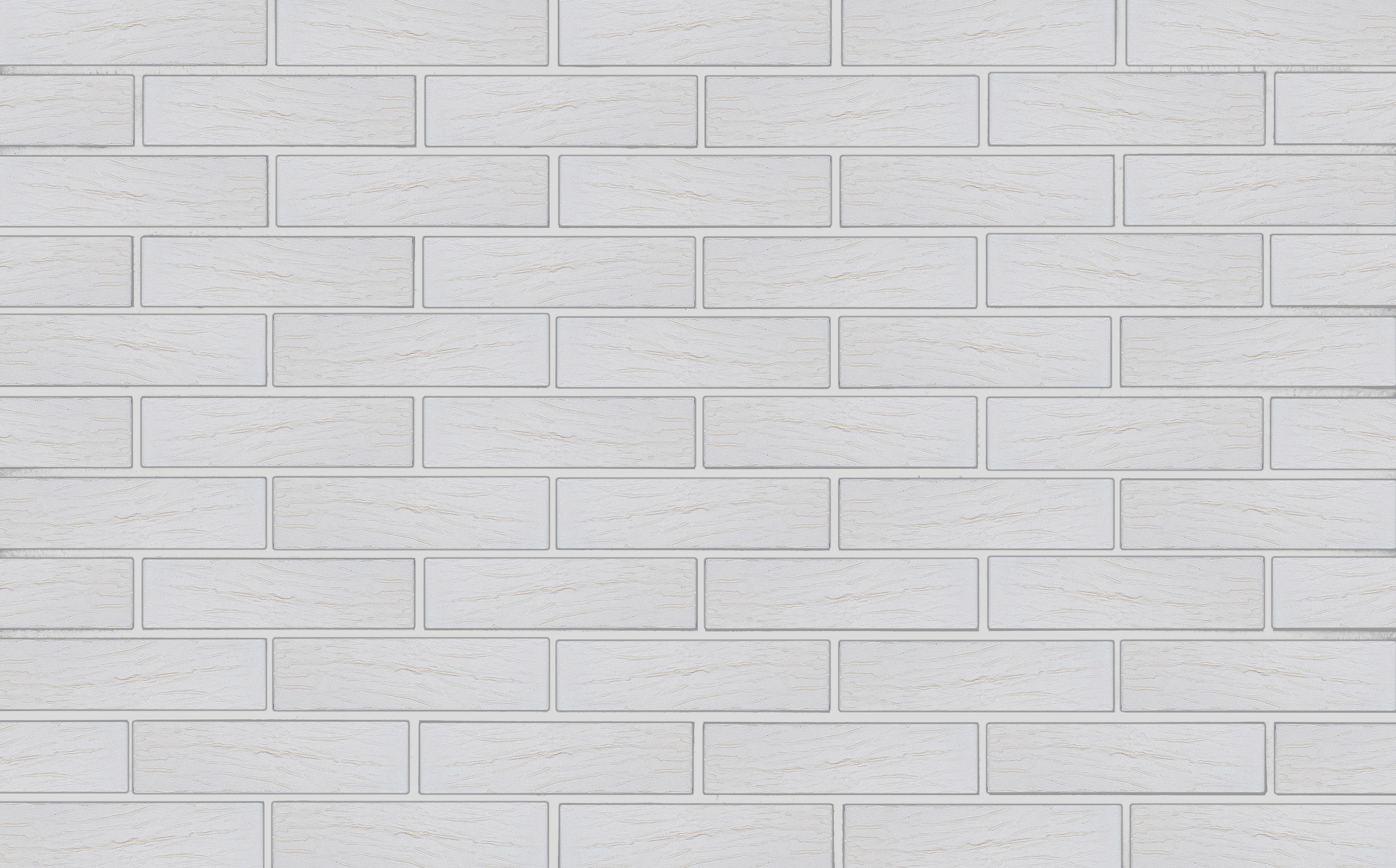 Кирпич Kerma Color WHITE POWDER R 250*120*65 1НФ - фото