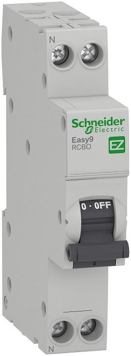 Автоматический выключатель диф.тока 1Р 25А Schneider - фото