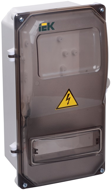 Корпус пластиковый ЩУРн-П 3/8 IP55 IEK (MSP308-3-55) - фото