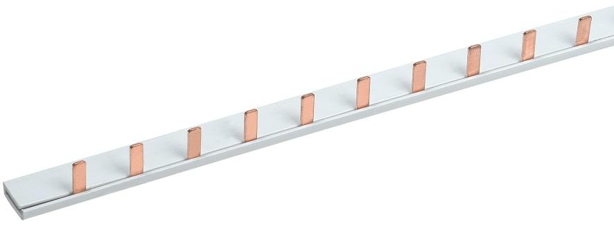 Шина соединительная типа PIN (12 штырей) 1Р 63А (22см) IEK (YNS21-1-063-22-12) - фото