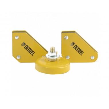купить Набор из 2 магнитных сварочных фиксаторов Denzel (97557) в Саранске