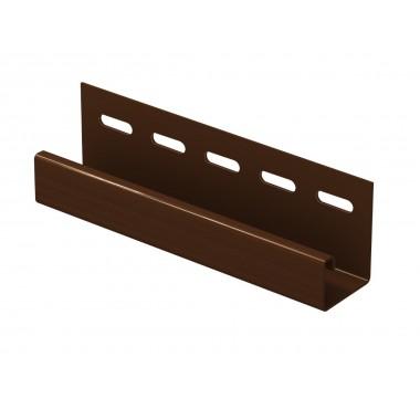 купить J-планка (ПВХ).0044.Н., 497С, коричневый (3,05м) Ю-Пласт (255310) в Саранске