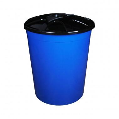 купить Бак 225л универсальный с крышкой синий в Саранске