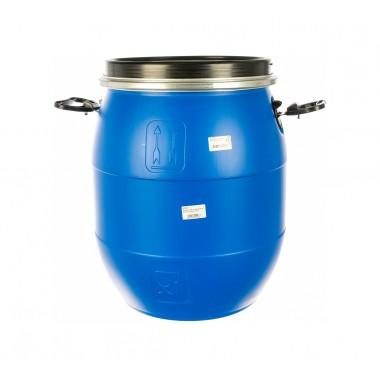 купить Бочка п/э 48л с крышкой на обруч синяя г.Москва в Саранске