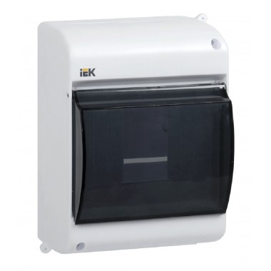 купить Бокс ОП КМПн 2/4 для 4 авт. наружной установки IEK (MKP42-N-04-30-12) в Саранске