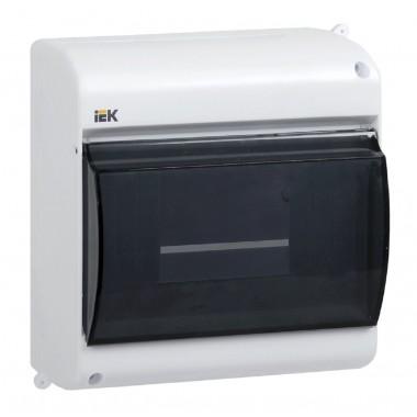 купить Бокс ОП КМПн 2/6 с прозрачной крышкой для 6 авт. наружной установки IEK (MKP42-N-06-30-09) в Саранске