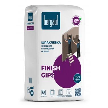 купить Шпаклевка Bergauf FINISH GIPS финишная на гипсовой основе 5кг в Саранске