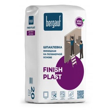 купить Шпаклевка Bergauf FINISH PLAST финишная на полимерной основе 20кг в Саранске