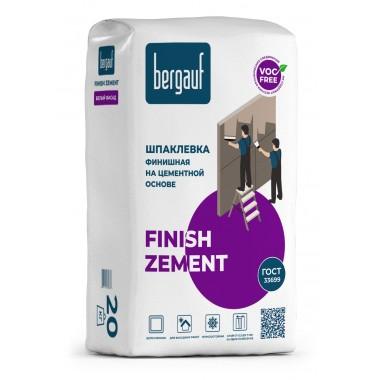 купить Шпаклевка Bergauf FINISH ZEMENT финишная на цементной основе 20кг в Саранске