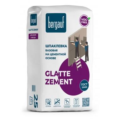 купить Шпаклевка Bergauf GLATTE ZEMENT базовая на цементной основе 25кг в Саранске