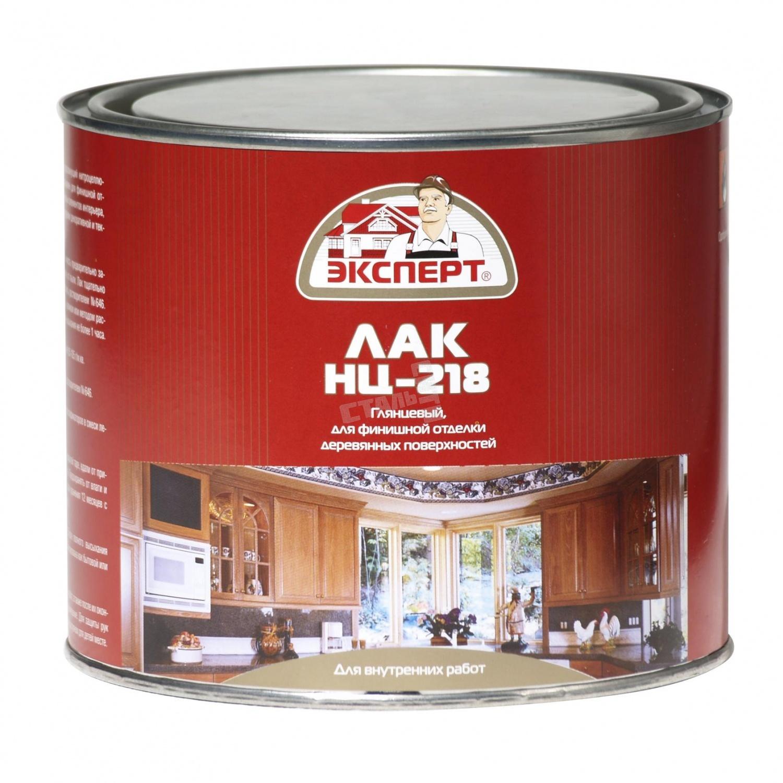 Лак мебельный НЦ-218 1.7кг Эксперт - фото