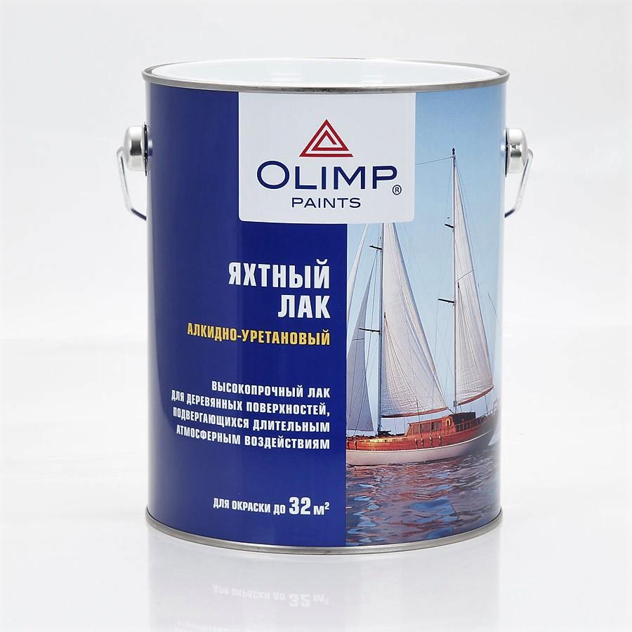 Лак Яхтный глянцевый 0.9кг Олимп - фото