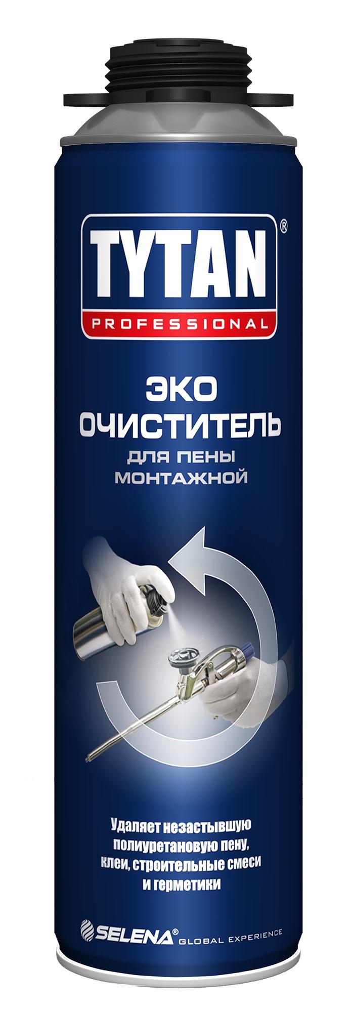Очиститель для монтажной пены TYTAN 500мл - фото
