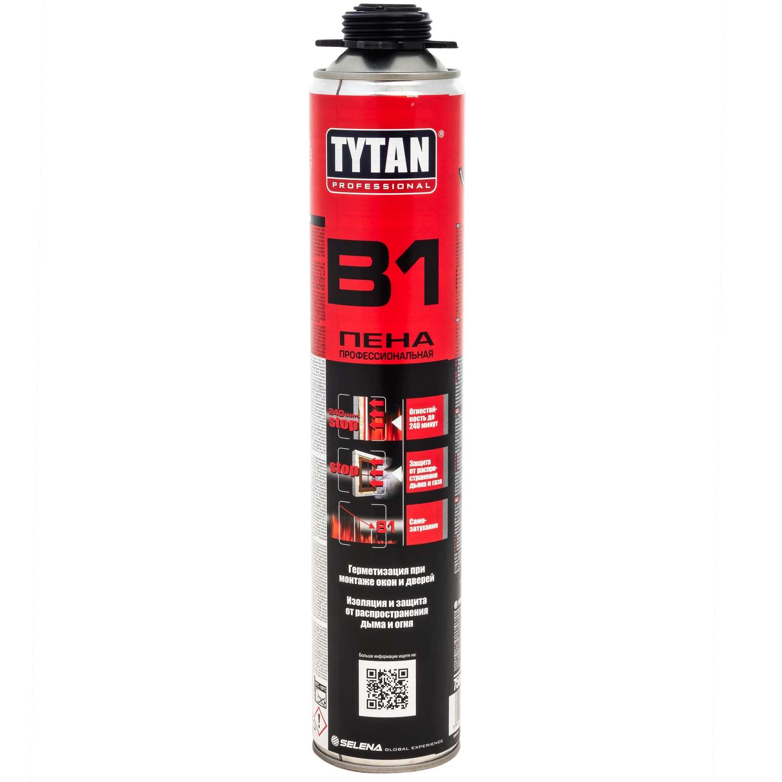 Пена монтажная TYTAN B1 Профи 750мл - фото