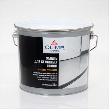 купить Эмаль для бетонных полов Олимп серая 9кг в Саранске