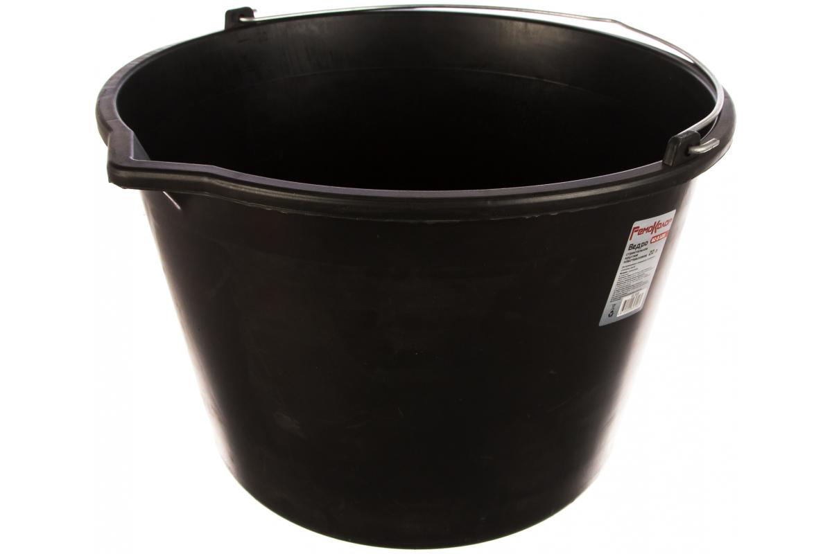 Ведро строительное пластик 20л (62-0-120) - фото