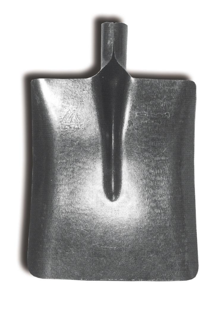 Лопата совковая ЛСП2 рельсовая сталь 900г (69-0-010) - фото