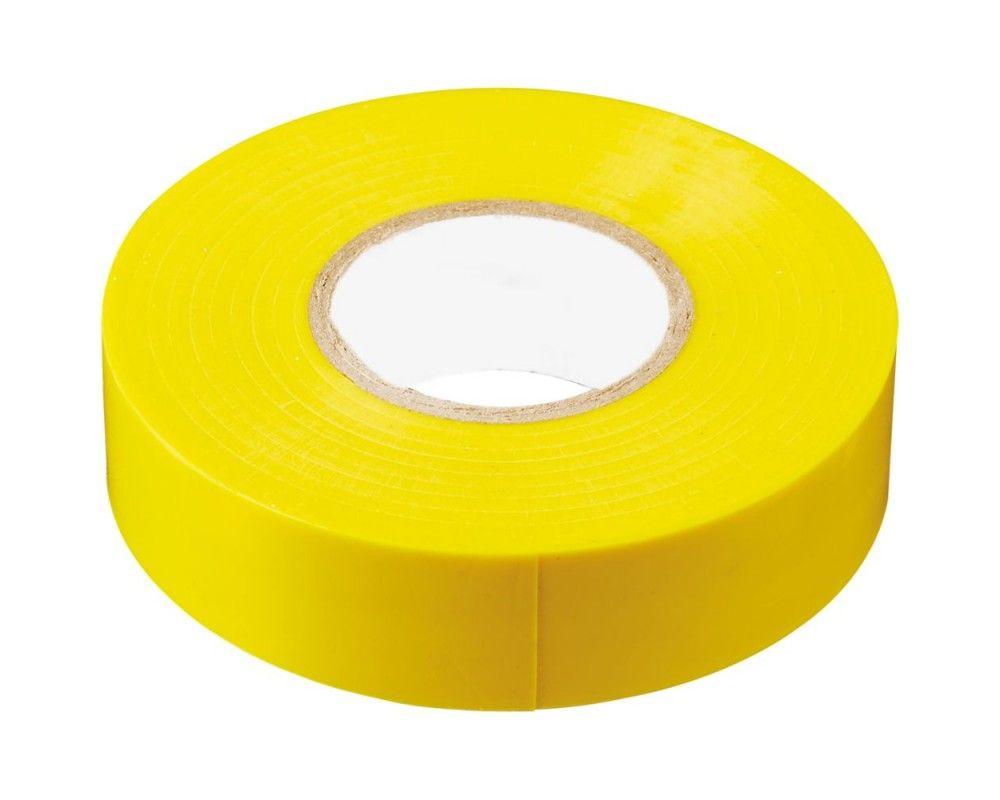 Изолента ПВХ 15мм желтая (20м) - фото
