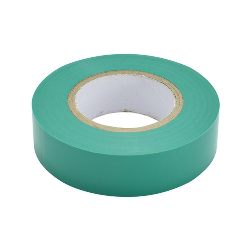 Изолента ПВХ 15мм зеленая (20м) - фото