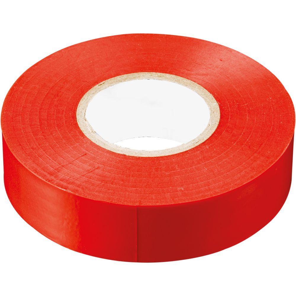 Изолента ПВХ 15мм красная (20м) - фото
