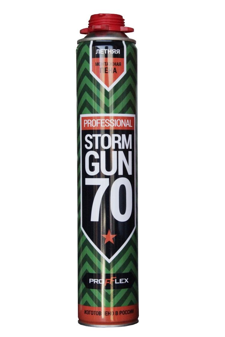 Пена монтажная проф Storm Gun 70л - фото