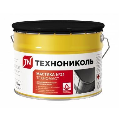 купить Мастика кровельная ТЕХНОНИКОЛЬ №21 Техномаст 10кг в Саранске