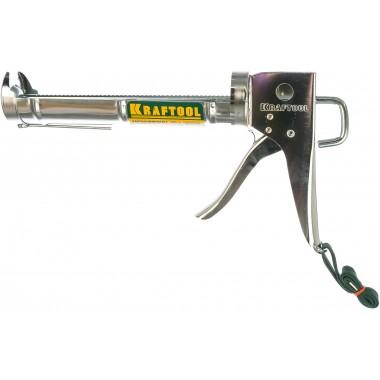 купить Пистолет для герметика KRAFTOOL INDUSTRIAL полукорпусной, хромированный (06671_z01) в Саранске