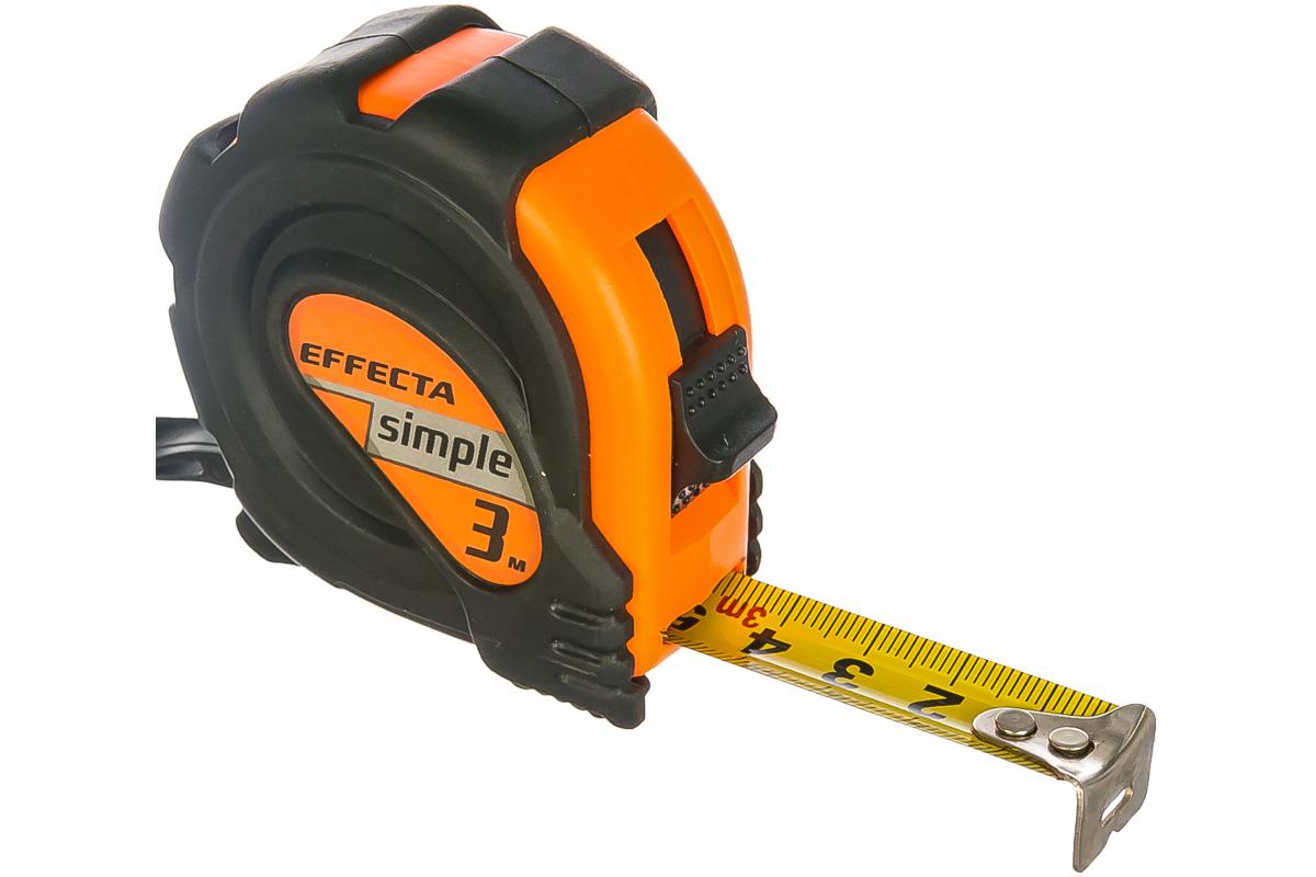 Рулетка Effecta Simple 3м/16мм (570316) - фото