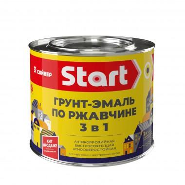 купить Грунт-эмаль Сайвер 3в1 по ржавчине (красная) Start 2кг в Саранске