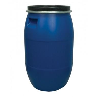 купить Бочка пластик 127л с крышкой синяя г.Москва в Саранске