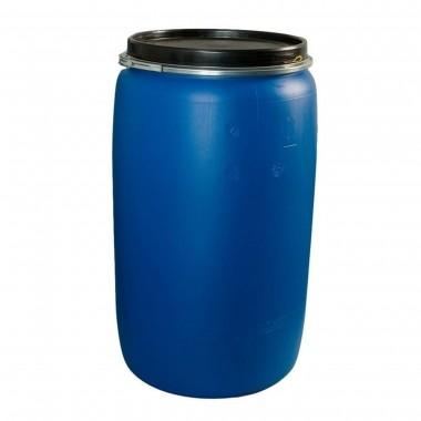 купить Бочка пластик 227л евробарабан с крышкой синяя г.Москва в Саранске