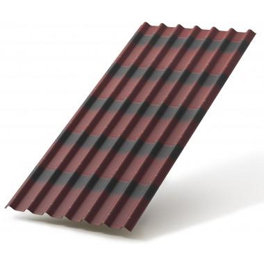 купить Черепица Ондулин красная 1950*950мм в Саранске